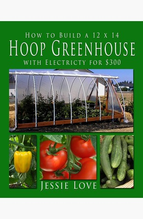 How to Build a 12 x 14 HOOP GREENHOUSE with Electricity for $300 Jessie Love