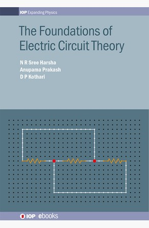 Foundations of Electric Circuit Theory N R Sree  Harsha