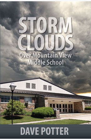 Storm Clouds Over Mountain View Middle School Dave Potter