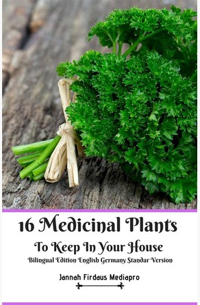 16 Medicinal Plants to Keep in Your House Bilingual Edition English Germany Standar Version Jannah Firdaus Mediapro