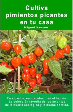 Cultiva pimientos picantes en tu casa. En el jardín, en macetas o en el balcón. Miguel Savater