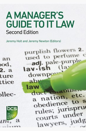 Manager's Guide to IT Law Jeremy Holt