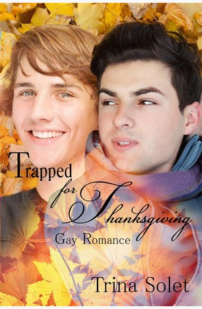 Trapped for Thanksgiving (Gay Romance) Trina Solet