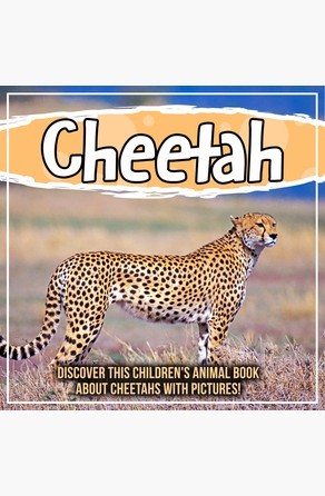 Cheetah: Discover This Children's Animal Book About Cheetahs With Pictures! Bold Kids