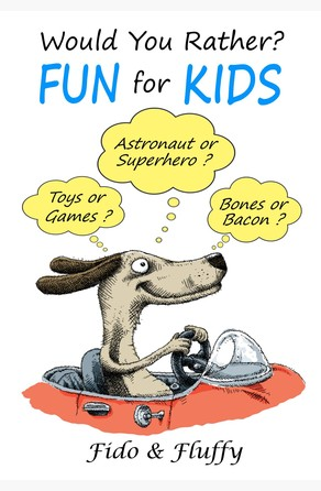 Would You Rather Fun for Kids Fido and Fluffy