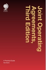 Joint Operating Agreements, Third Edition por