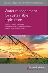 Water management for sustainable agriculture por                                       Prof. T. Oweis