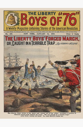 Liberty Boys' Forced March Harry Moore