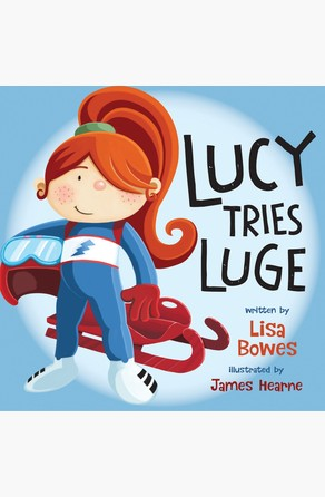 Lucy Tries Luge Lisa Bowes
