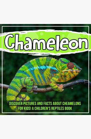 Chameleon: Discover Pictures and Facts About Cheamelons For Kids! A Children's Reptiles Book Bold Kids