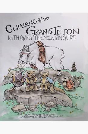 Climbing The Grand Teton Peter Ramos