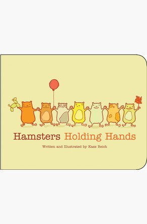 Hamsters Holding Hands Kass Reich