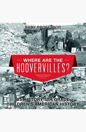 Where are the Hoovervilles? US History 5th Grade | Children's American History Baby Professor